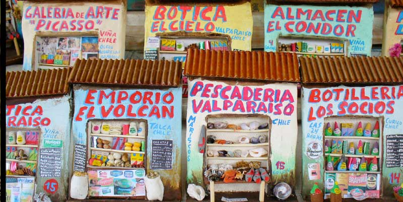 souvenir santiago chile