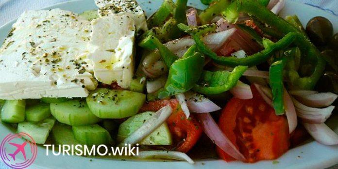 comida tradicional de grecia
