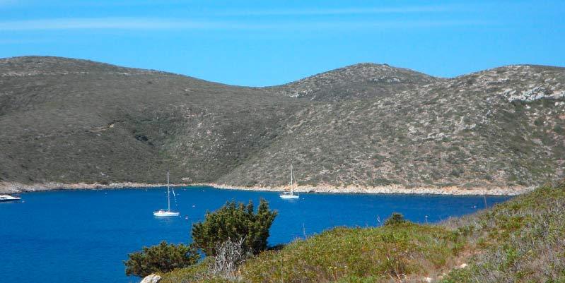 Los islotes del archipiélago de Cabrera